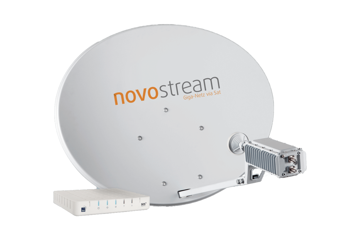 SES Broadband, Gilat Ka-band Antenne