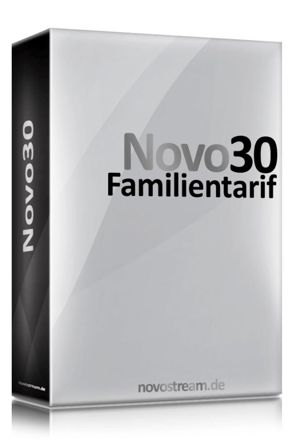 Novo30 DSL via Sat Tarif