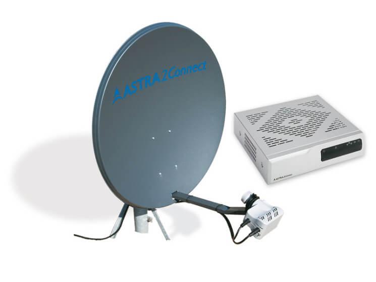 Sat Antenne für DSL via Satellit von T-Home