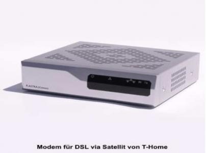 Astra2Connect Modem, Vorderseite