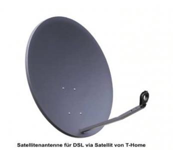 Satellitenantenne für DSL via Satellit von T-Home