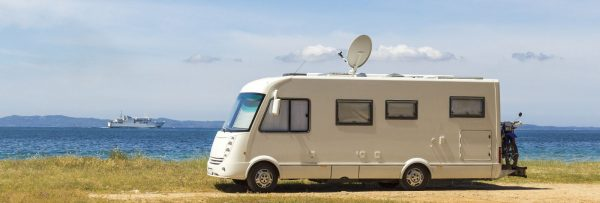 Camper mit Internet via Sat